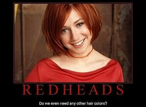 Right hot movie redhead you